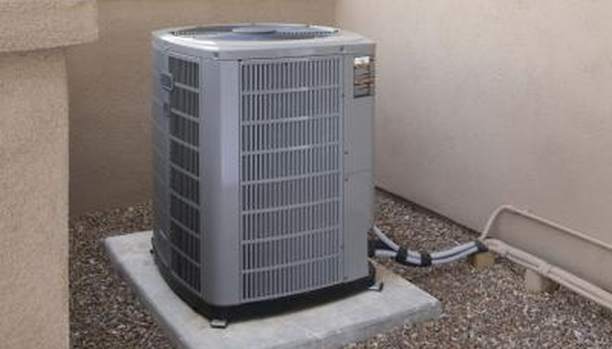 Split air condiitoner will contain and outside and inside component.