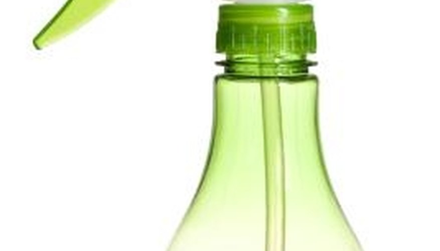 Put your homemade cleaning in any size spray bottle