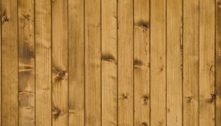 Oak paneling can be updated.