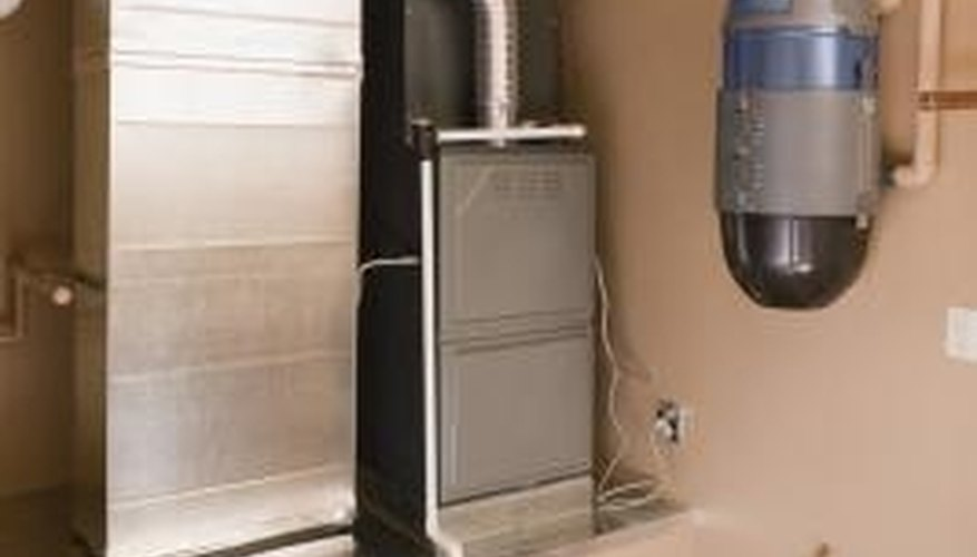 Furnace filters remove dust and allergens from the air.