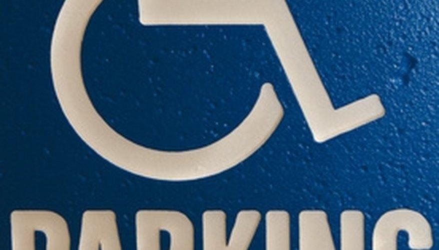 Handicap parking spaces are placed closest to accessible entrances.