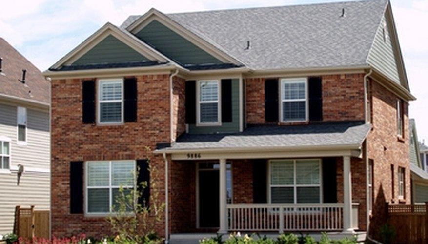 Radon can enter a home through cracks in the basement.