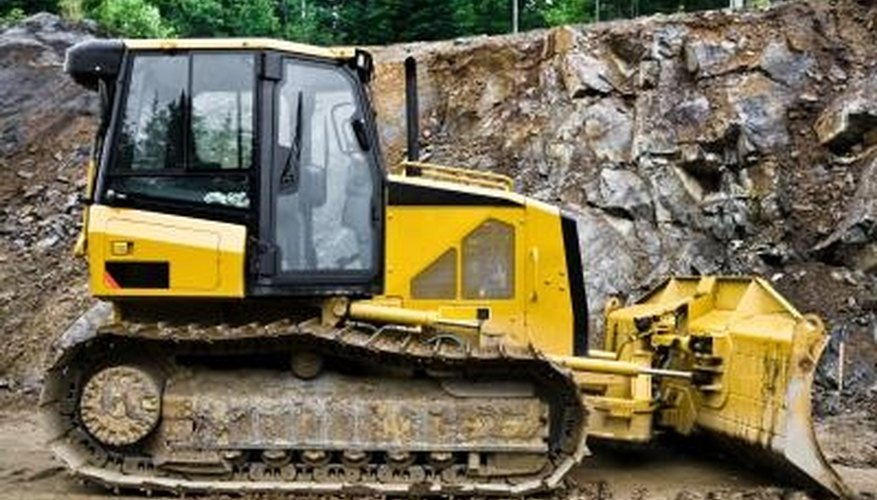 Bulldozers can be used to remove a tree -- stump and roots included.