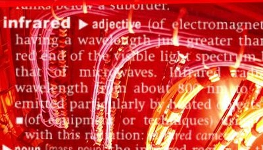 Infrared light is a form of electromagnetic radiation.