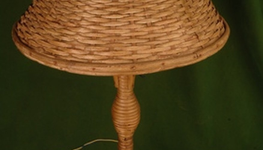 Cane furniture comes in all sorts of sizes and shapes.