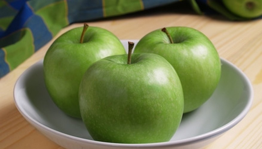 Granny Smith apples are considered self-fertile, but produce better fruit with cross-pollination.