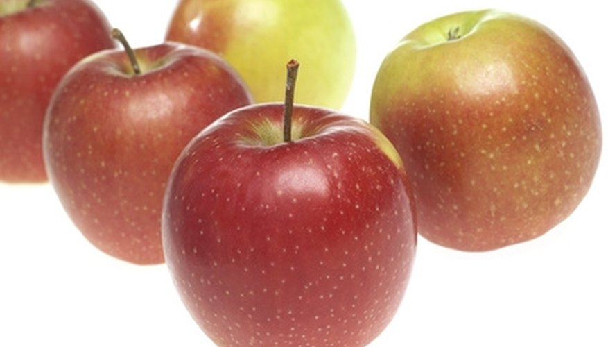 Jonagold apples are triploid trees and must be cross-pollinated.