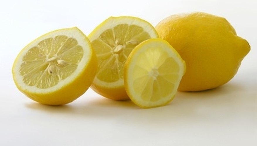 Lemons are a natural rust remover.