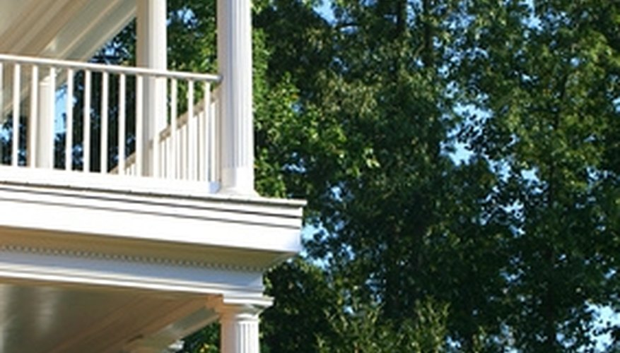 Permacast columns can be installed on any type of porch.