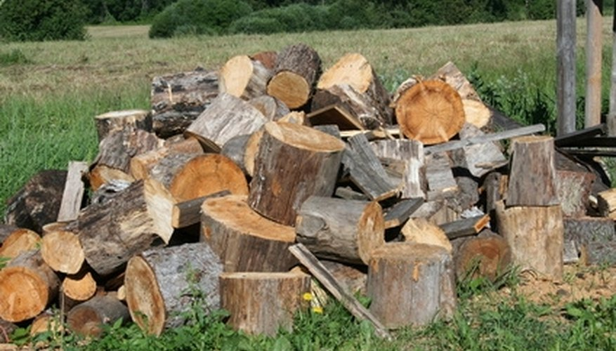 Cut and cure firewood so that it burns safe and hot.
