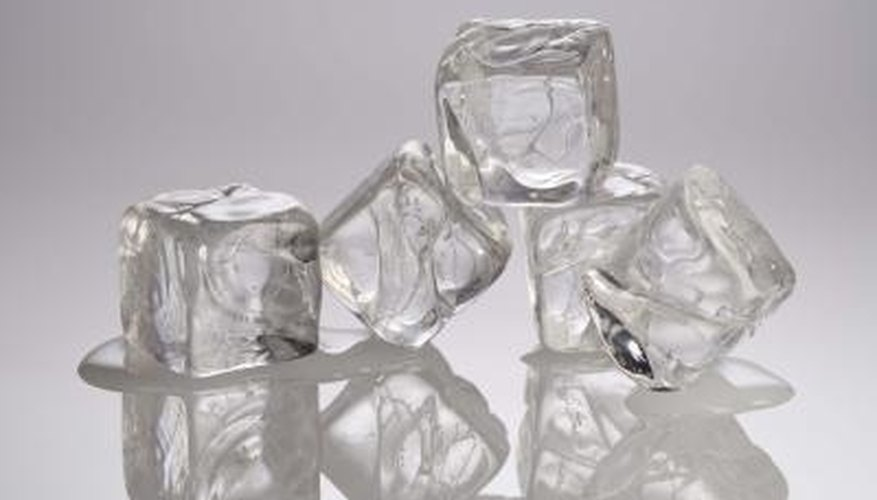 Clean an ice maker on a regular basis.