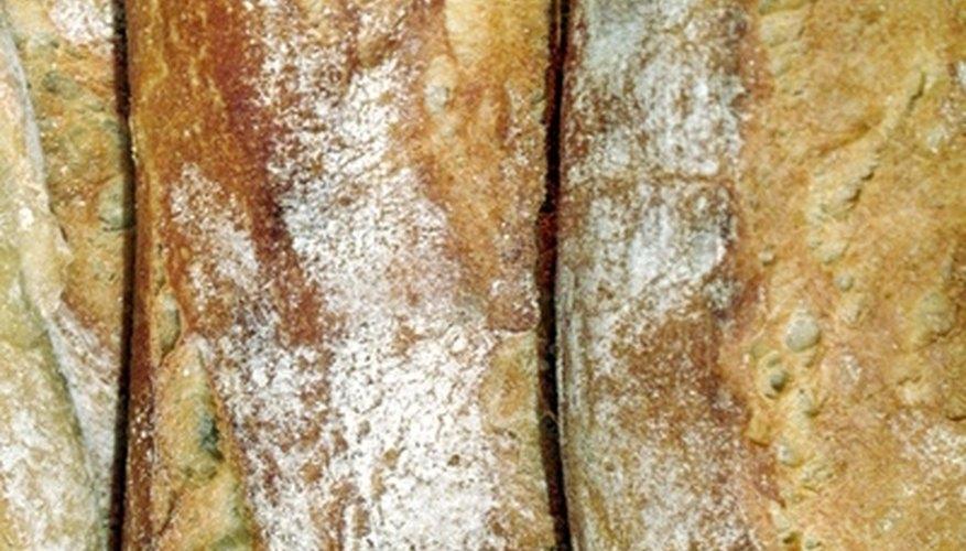 White-flour bread has little fiber content, which makes it a low plant estrogen food source.