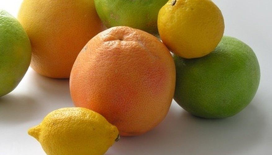 Citrus fruits, like limes, lemons, grapefruits and lemons, have low plant estrogen.