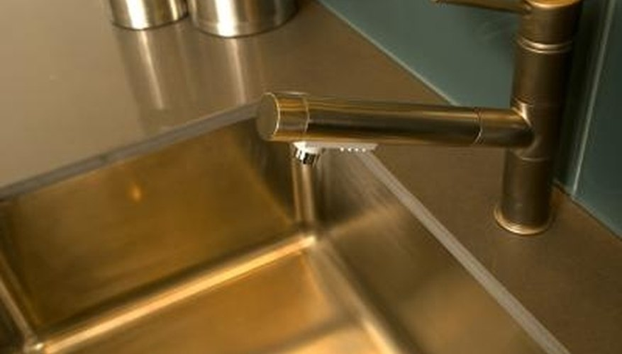 Get Rid of Scratches on a Kohler Stainless Steel Sink