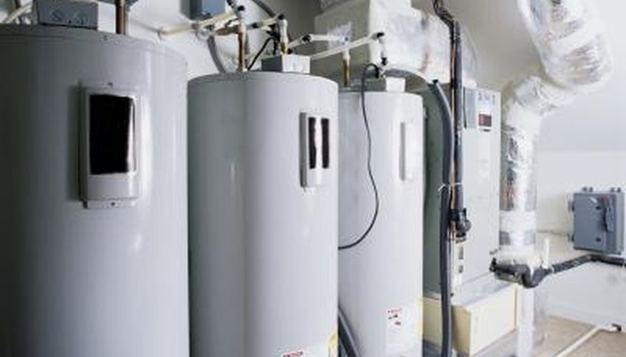 Boilers provide steam heat to living spaces.