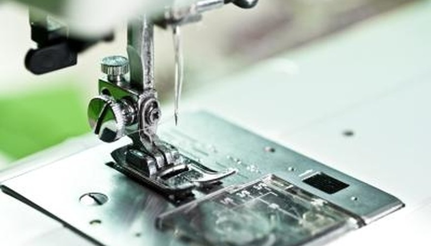 Automatic needle threaders are a useful sewing machine feature.
