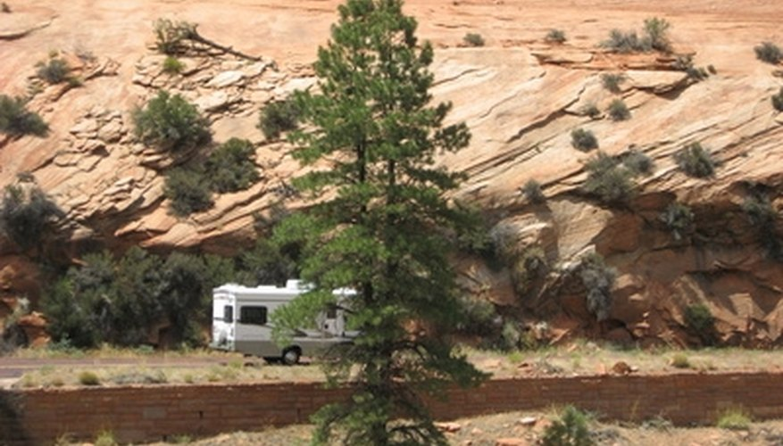 How to Remove a Gray Water Tank From an RV