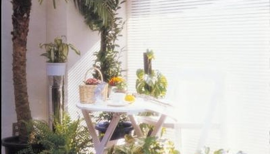 Houseplants create lush indoor living areas that can be enjoyed year-round.