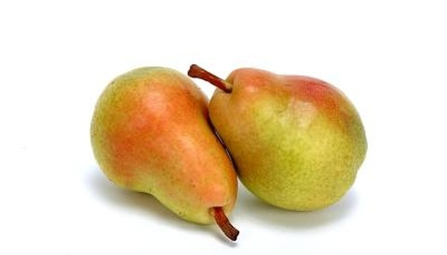 Different varieties of pears grow well in Arkansas.