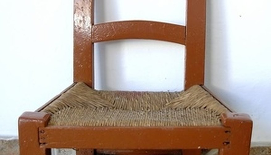 Woven chairs are durable and natural.