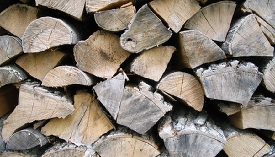 A log splitter can make firewood production easier.