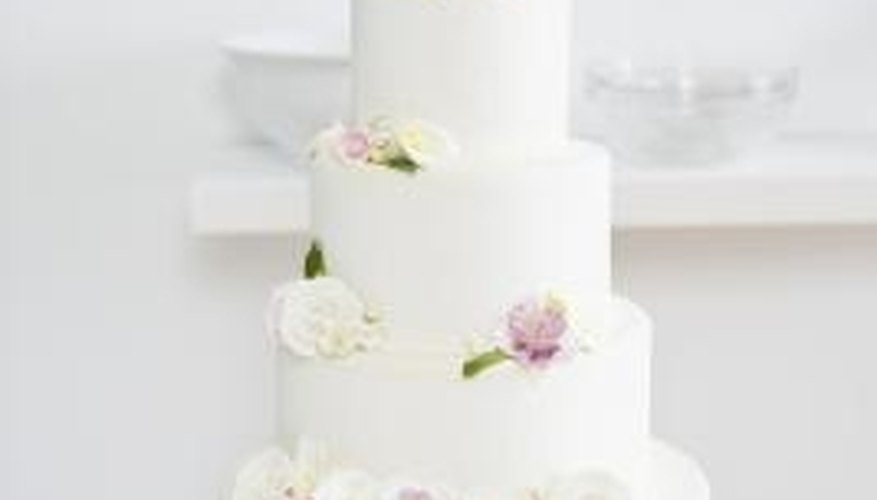 Add Properly Stored Royal Icing Flowers To Cakes Decorate Them