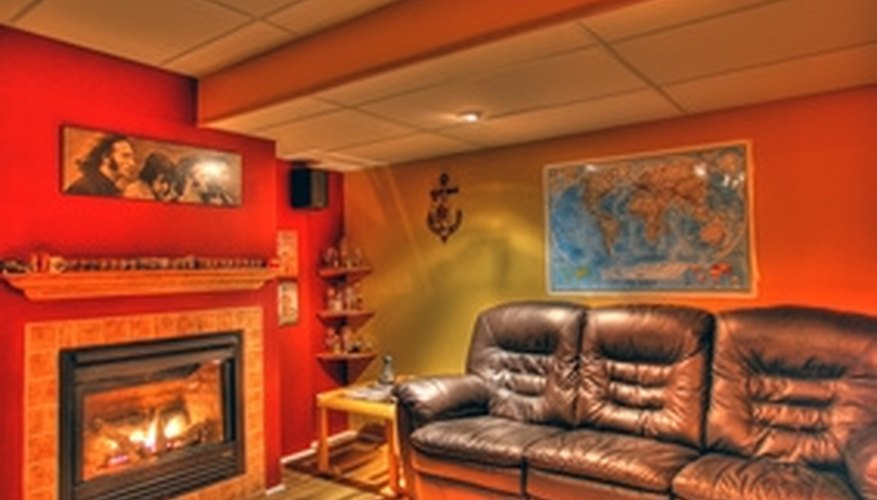 A finished basement can increase your living space.