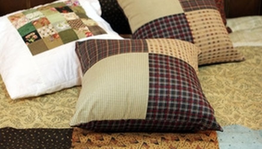 Clean your quilt as soon as you notice a stain.