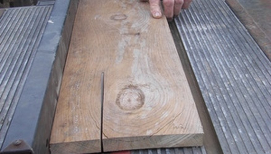 Careful planning enables you to cut nearly any angle on your table saw.