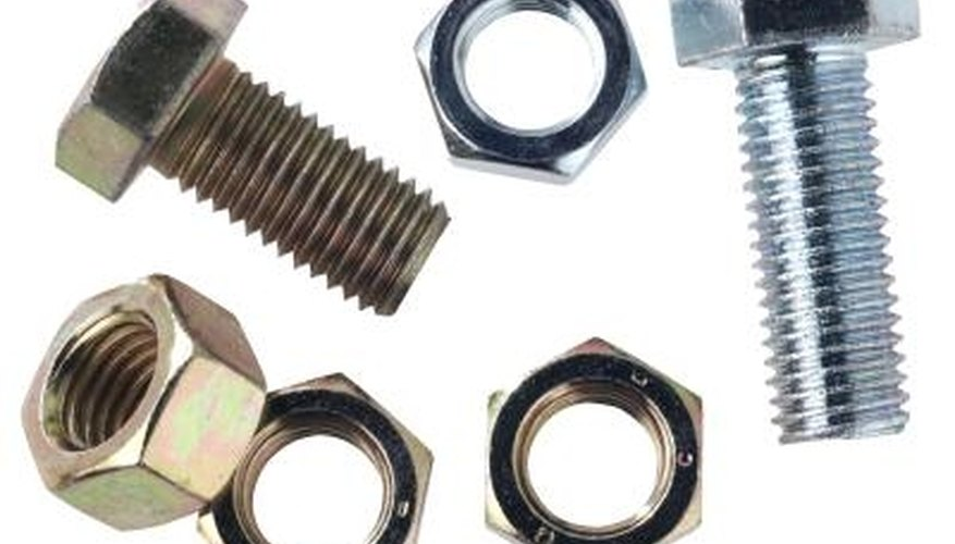 Organize Nuts, Bolts and Nails
