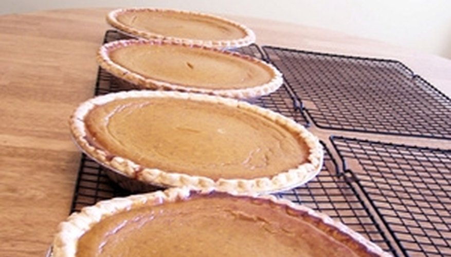 Pies and other baked goods were kept in a pie safe to protect them against flies and other pests.