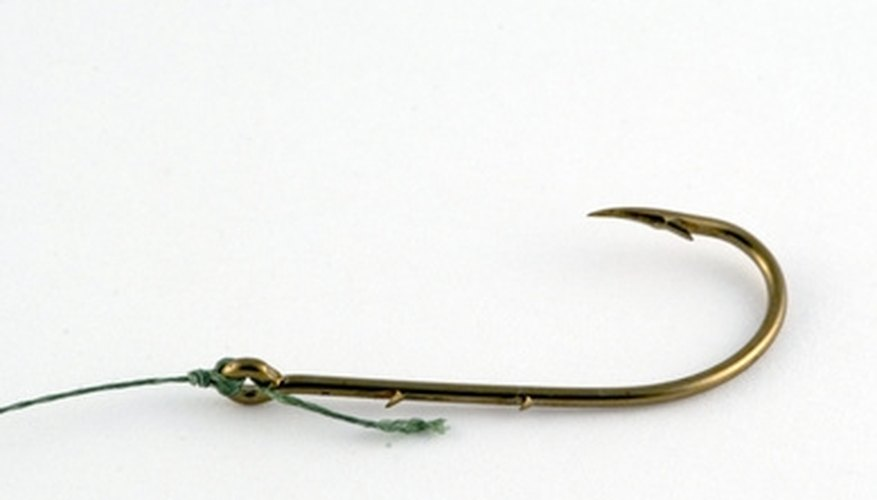 How to Rig the Bait to the Hook Using Frozen Anchovies