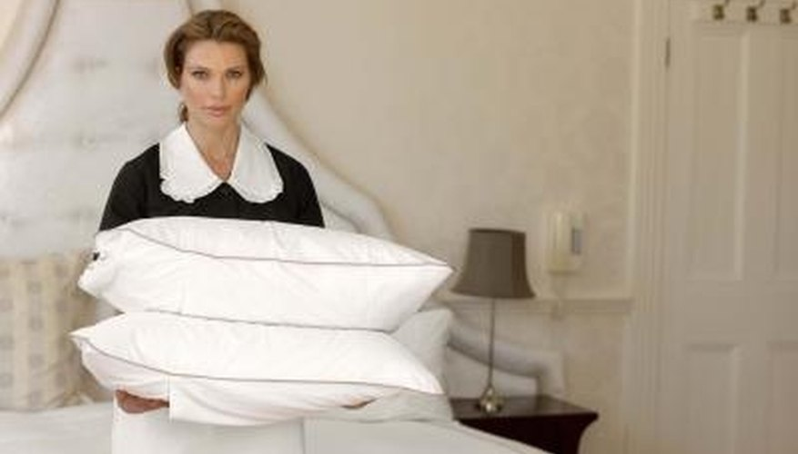 Keep your pillows clean and allergen-free with dry steam cleaning.