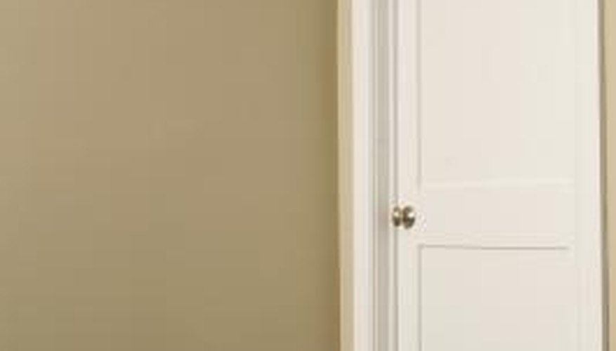 make sure the door is closed before you take it off of its hinges