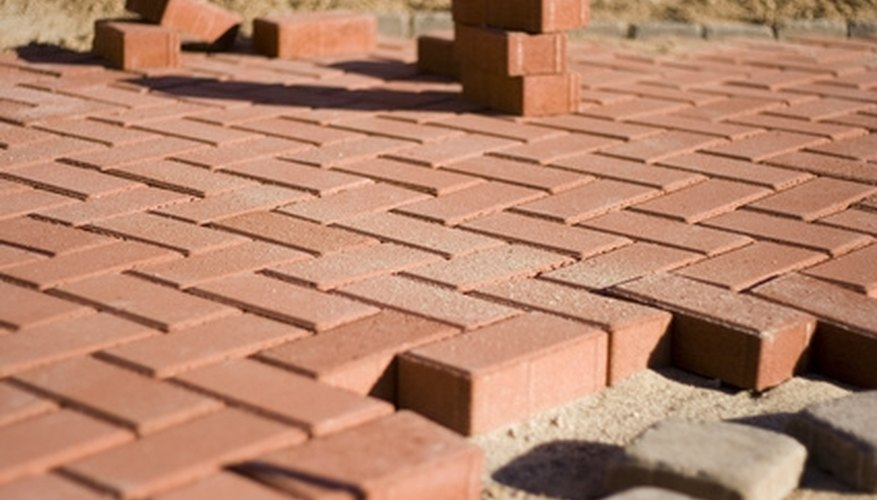 Arrange the bricks in creative patterns.