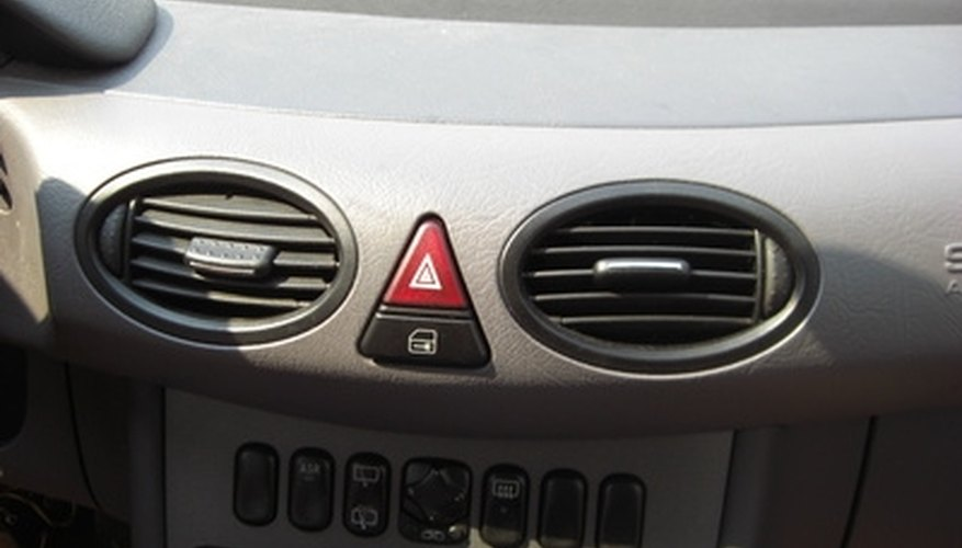 Flushing a car air conditioner could help it work more efficiently.