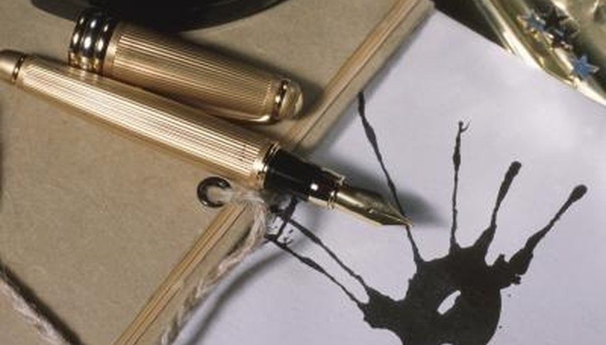 leaky pens can easily stain bags