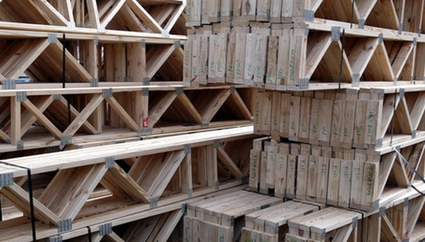 Floor trusses are stronger and less costly overall than joists.