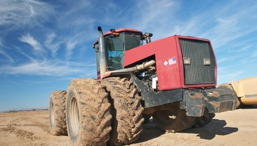 The serial number for an International Farmall can be a vital source of information.