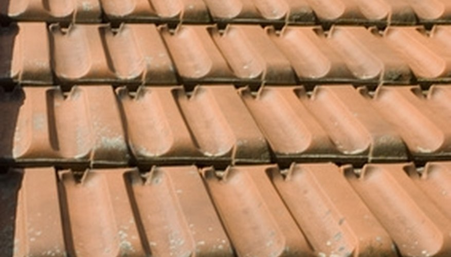 Concrete roof tiles are easy to replace.