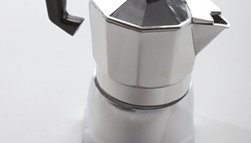 Old-fashioned drip coffee pots make coffee similar to drip coffee makers.
