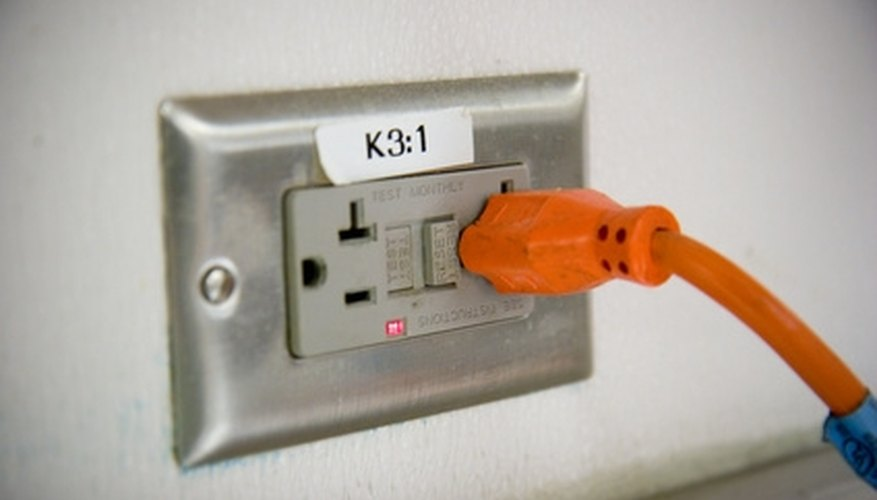 Electrical receptacles can be mounted sideways wherever space is an issue.