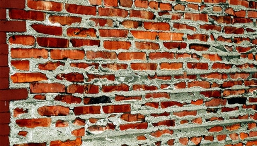 With proper preparation, you can safely knock down a brick wall.
