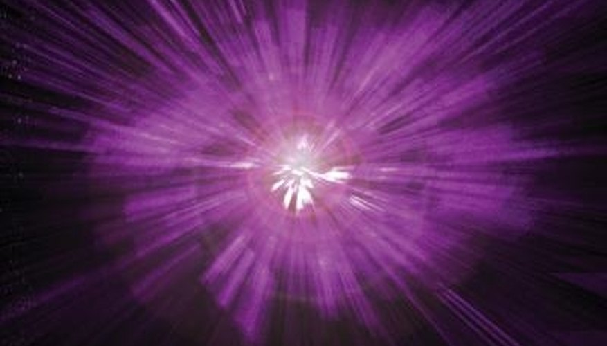 Violet rays are used to treat many physical ailments and conditions.