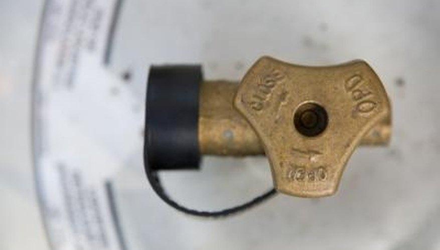 Inspect older propane tanks before refilling them.