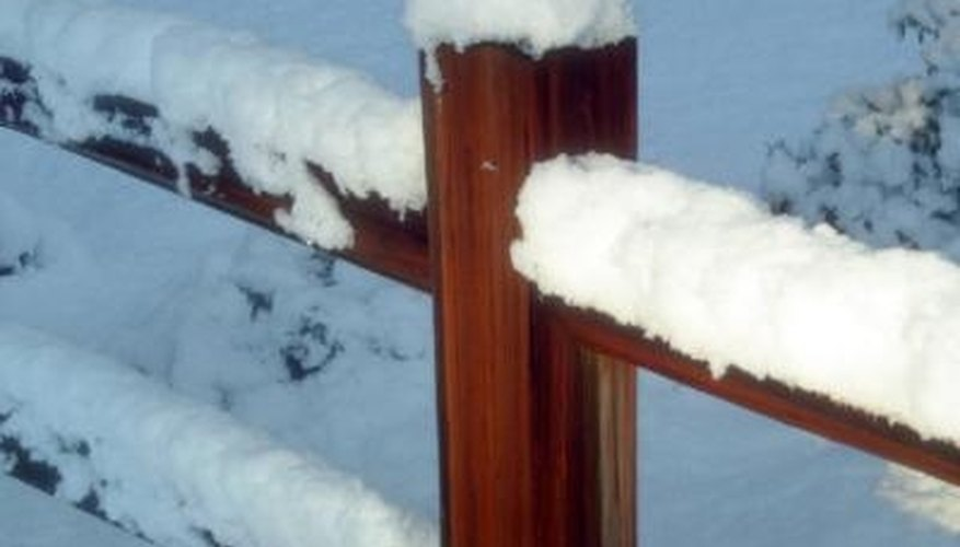 Preserve the beauty of your redwood fence.