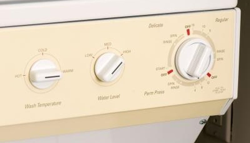 Washing machine water problems usually stem from the water level settings.