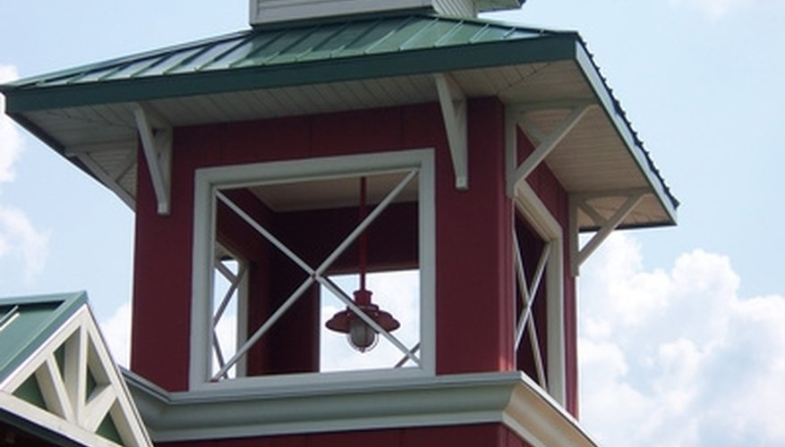 Build a cupola atop your house to add some charm.