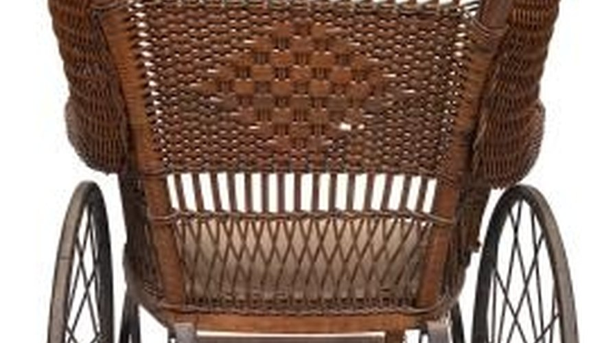 Clean antique wicker furniture regularly to keep it looking its best.