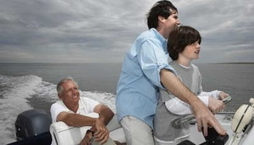 How to Install an Outboard Throttle Control Cable